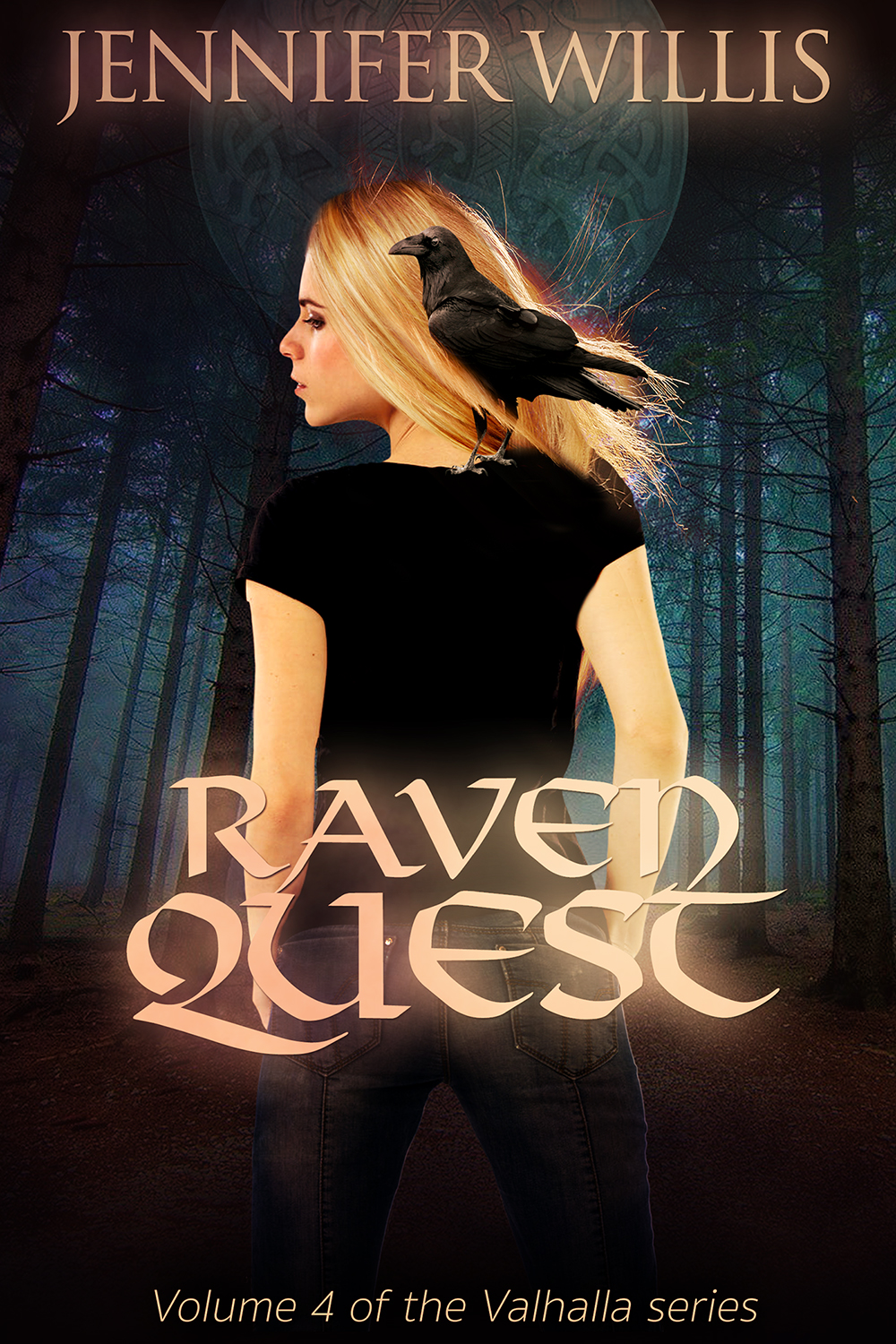 Raven Quest—Valhalla book 4—by Jennifer Willis