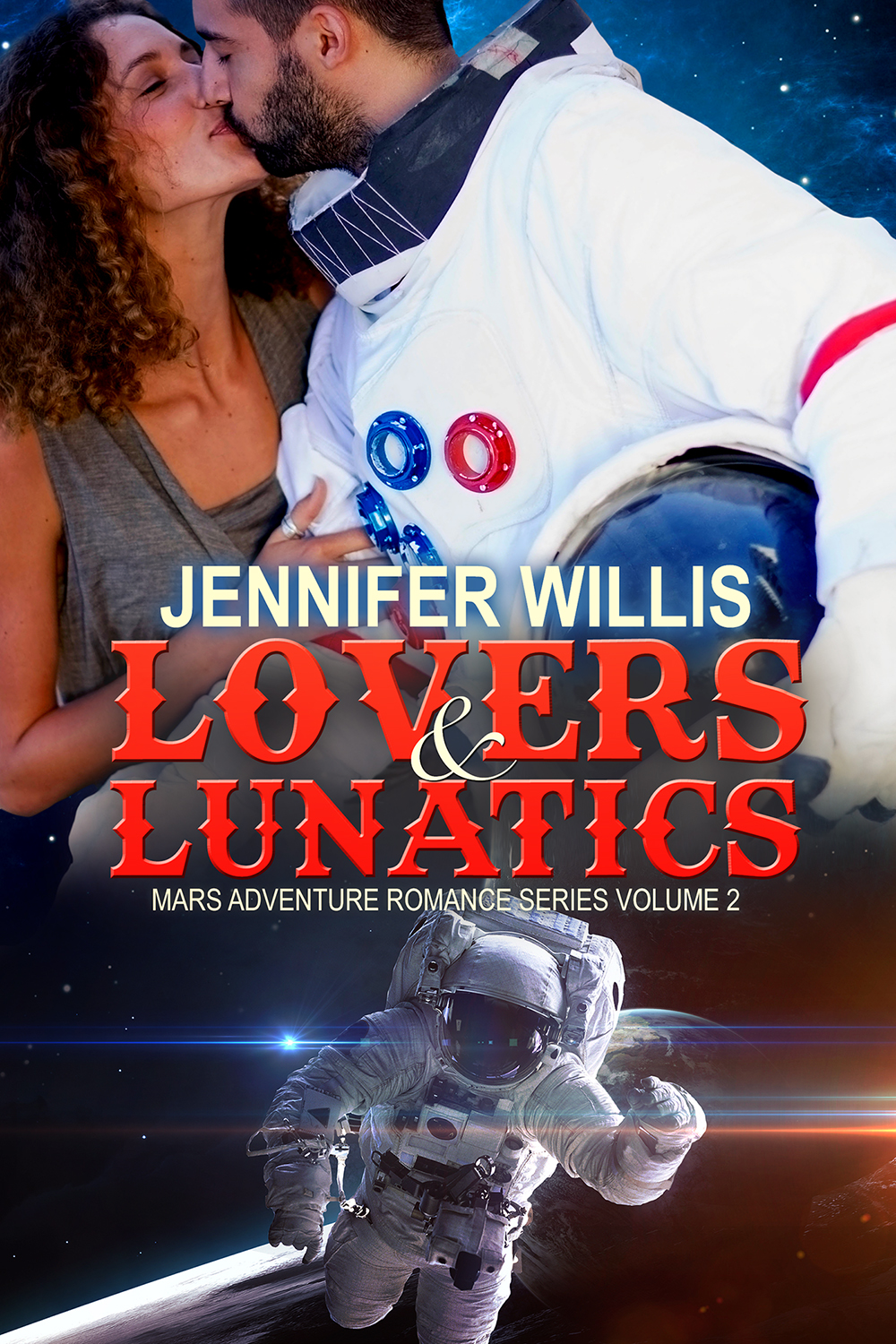 Lovers and Lunatics (M.A.R.S. 2) by Jennifer Willis