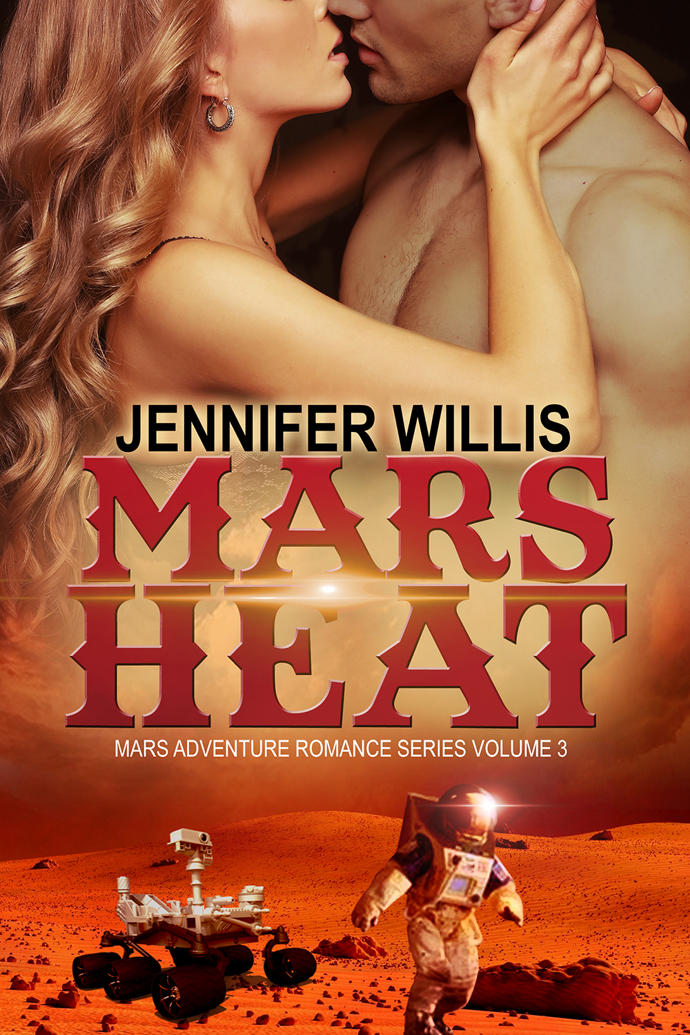 Mars Heat (MARS 3) by Jennifer Willis