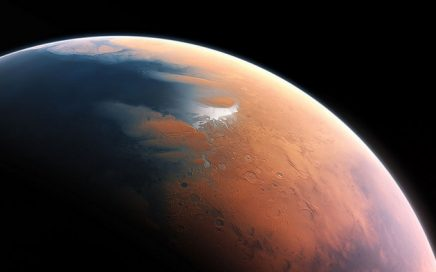 Artist's impression of Mars four billion years ago. Credit: ESO/M. Kornmesser