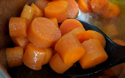 Instant Pot glazed carrots, made by Jen.